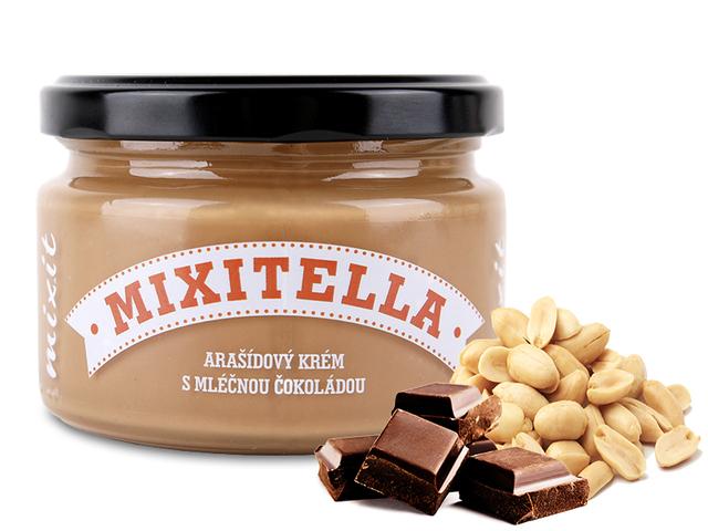 Zobrazit detail výrobku Mixit Mixitella - Arašídy s mléčnou čokoládou 250 g