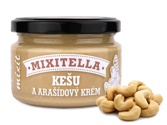 Zobrazit detail výrobku Mixit Mixitella - Kešu & arašídy 250 g