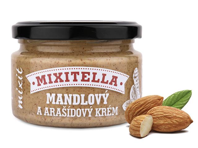Zobrazit detail výrobku Mixit Mixitella - Mandle & arašídy 250 g