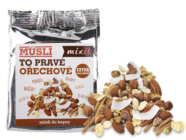 Zobrazit detail výrobku Mixit To pravé ořechové do kapsy 1 ks, 60 g