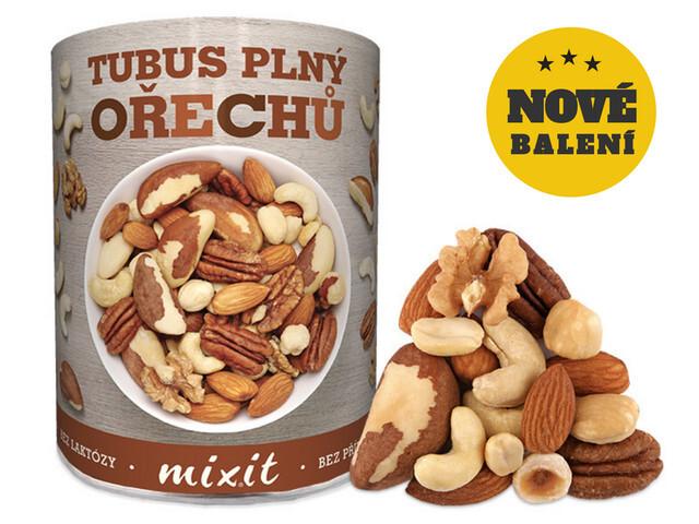 Zobrazit detail výrobku Mixit Tubus plný ořechů 400 g