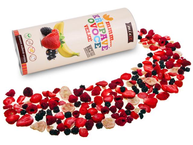 Zobrazit detail výrobku Mixit Velké křupavé ovoce 150 g