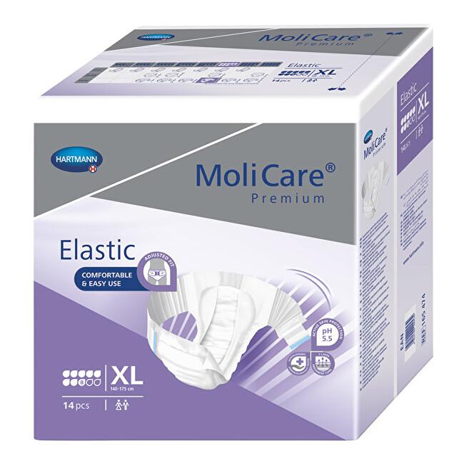 Zobrazit detail výrobku MoliCare MoliCare Elastic 8 kapek XL 14 ks
