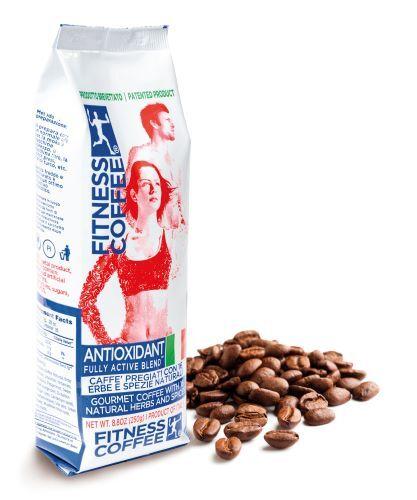 Káva FITNESS COFFEE® Antioxidant Fully Active Blend zrnková 250 g