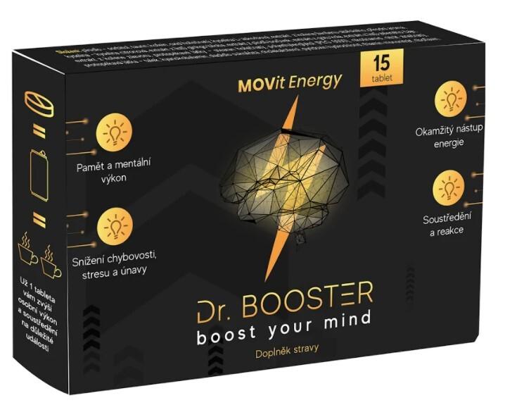 Zobrazit detail výrobku MOVit Energy Dr. Booster 15 tablet