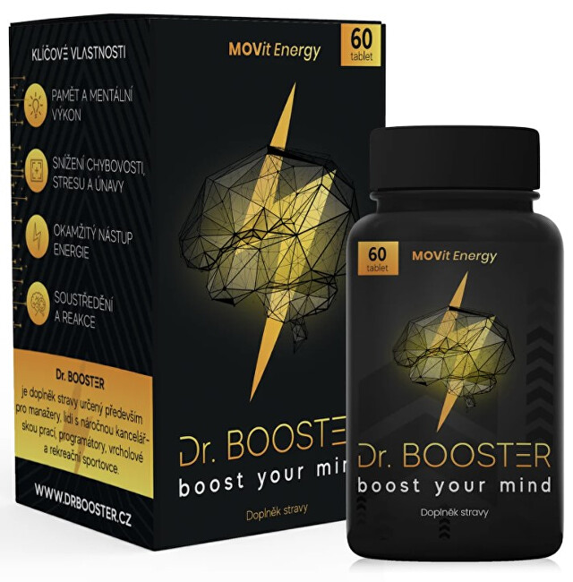 MOVit Energy Dr. Booster 60 tablet