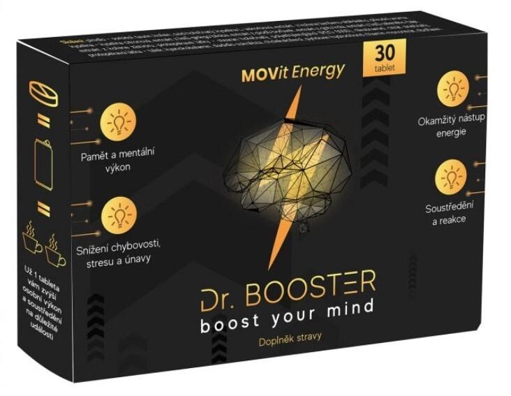Zobrazit detail výrobku MOVit Energy Dr. Booster 30 tablet