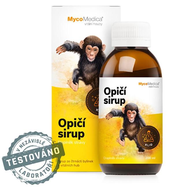 Zobrazit detail výrobku MycoMedica Opičí sirup 200 ml