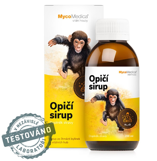 Opičí sirup 200 ml