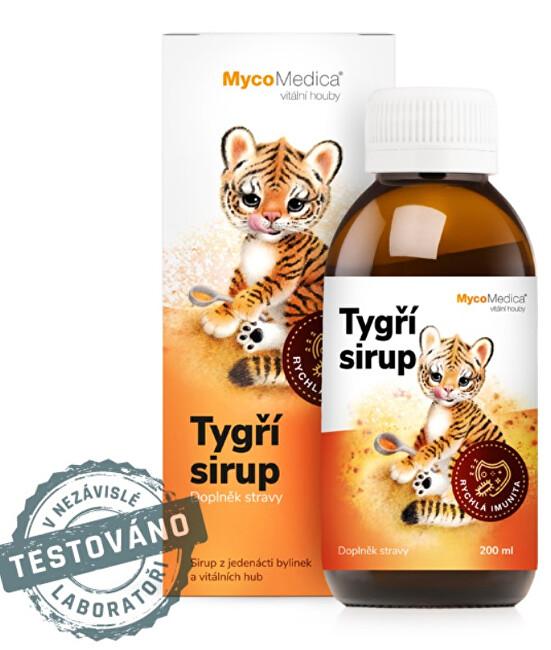 Tygří sirup 200 ml