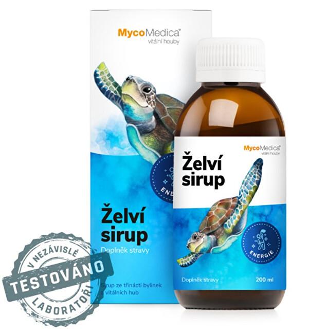 Zobrazit detail výrobku MycoMedica Želví sirup 200 ml
