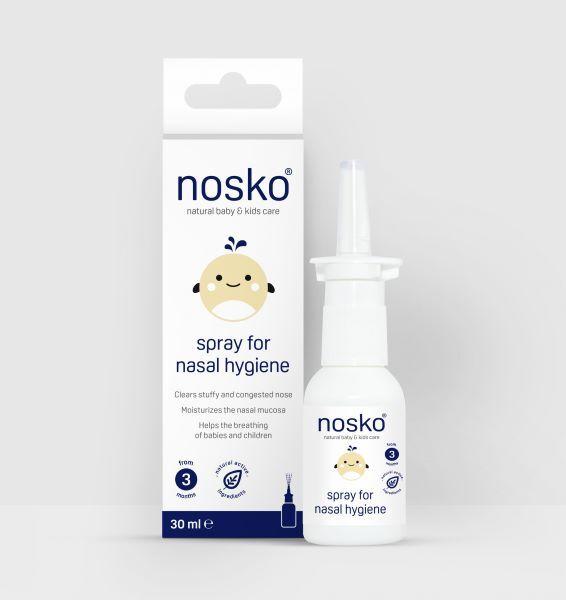 Zobrazit detail výrobku Nosko Baby & Kids isotonická mořská voda spray 30 ml