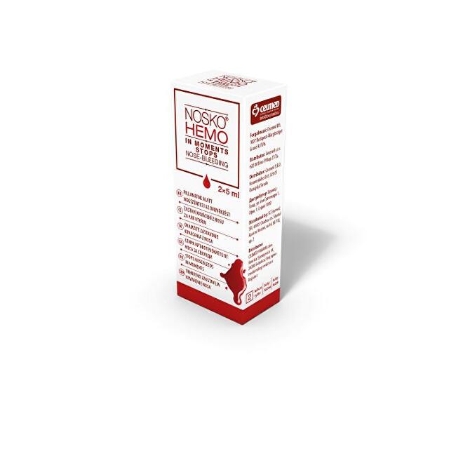 Zobrazit detail výrobku Nosko Hemo gel stop krvácení z nosu 2 x 5 ml