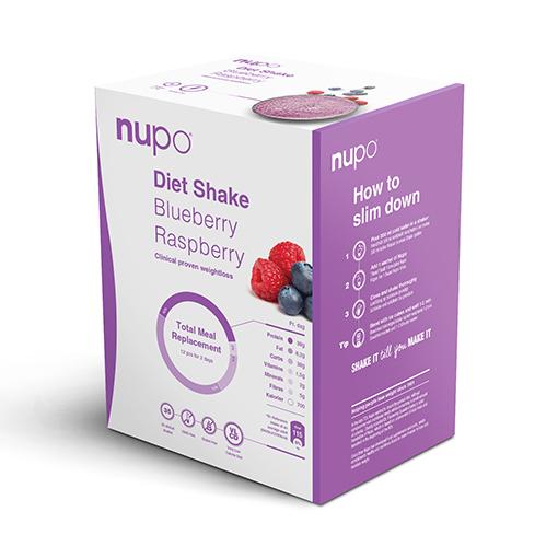 Zobrazit detail výrobku NUPO NUPO DIETA Borůvka - malina 12 porcí