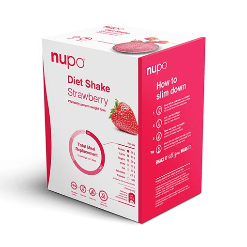 Zobrazit detail výrobku NUPO DIETA Jahoda 12 porcí