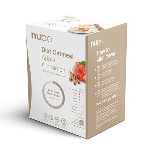 Zobrazit detail výrobku NUPO NUPO DIETA Kaše Jablko se skořicí 12 porcí