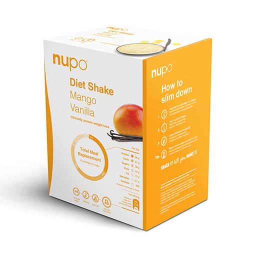 Zobrazit detail výrobku NUPO DIETA Mango - vanilka 12 porcí