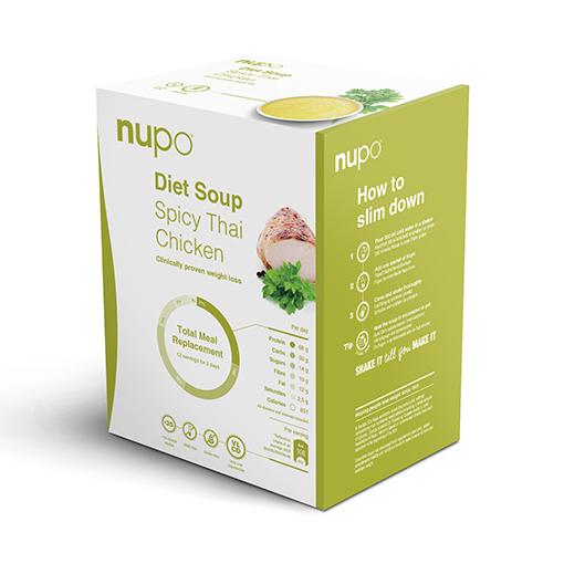Zobrazit detail výrobku NUPO DIETA Pikantní thajská polévka 12 porcí