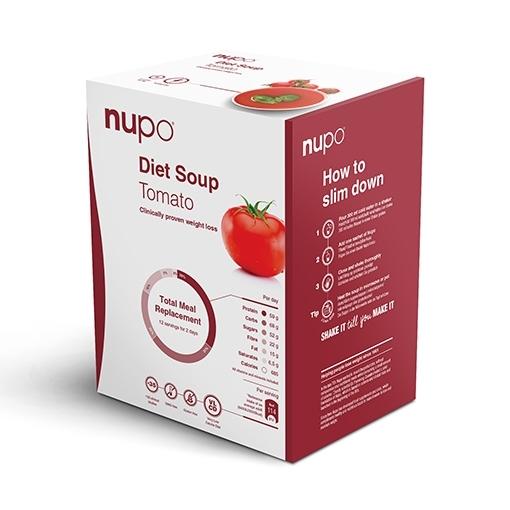 Zobrazit detail výrobku NUPO DIETA Tomatová polévka 12 porcí