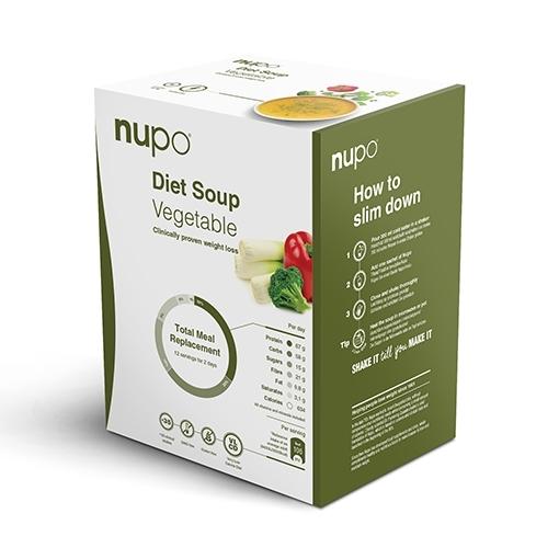 Zobrazit detail výrobku NUPO DIETA Zeleninová polévka 12 porcí