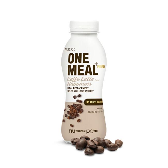 Zobrazit detail výrobku NUPO ONE MEAL + PRIME hotový nápoj Caffe Latté Happiness 372 g