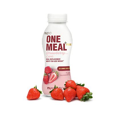 Zobrazit detail výrobku NUPO ONE MEAL + PRIME hotový nápoj Strawberry Love 372 g