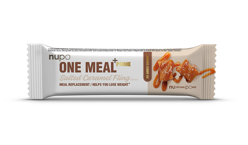 Zobrazit detail výrobku NUPO NUPO ONE MEAL +PRIME tyčinka Slaný karamel 69 g