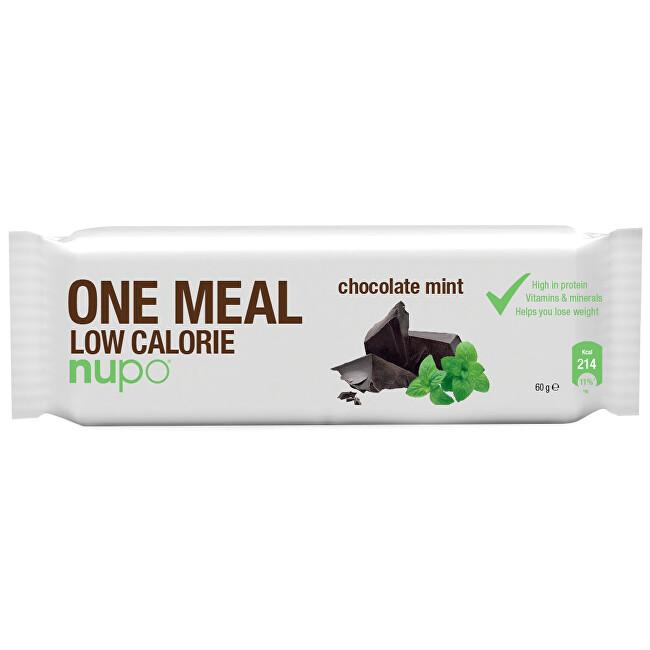 Zobrazit detail výrobku NUPO NUPO ONE MEAL tyčinka Čokoláda s mátou 65 g