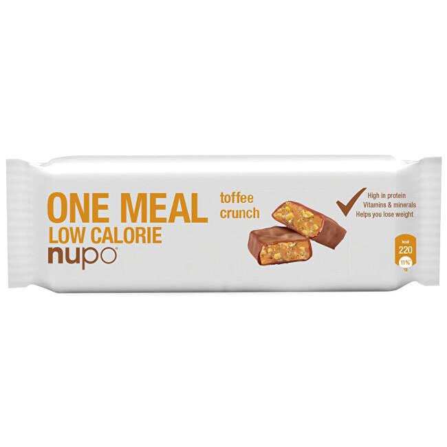 Zobrazit detail výrobku NUPO NUPO ONE MEAL tyčinka Křupavý karamel 65 g