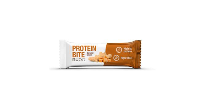 Zobrazit detail výrobku NUPO Protein Bite tyčinka Zázvor - karamel 42 g
