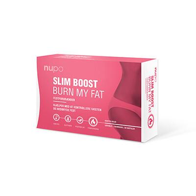 Zobrazit detail výrobku NUPO SLIM BOOST -  Burn My Fat 30 kapslí