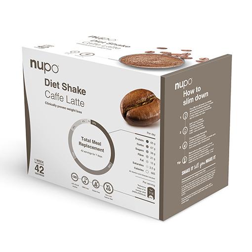 Zobrazit detail výrobku NUPO Výhodné balení Diety 42 porcí Caffe latte