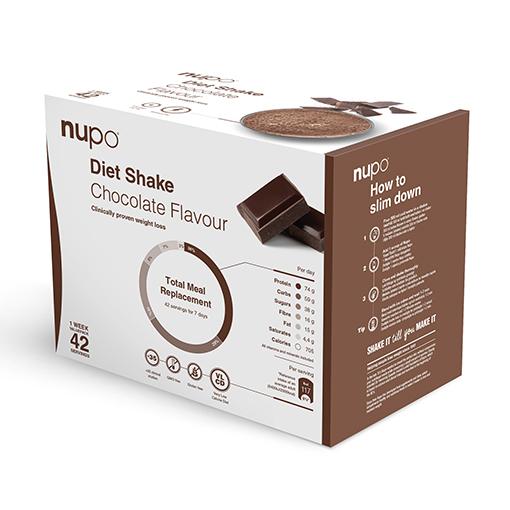 Zobrazit detail výrobku NUPO Výhodné balení Diety 42 porcí Čokoláda