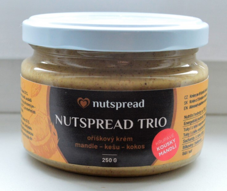 Zobrazit detail výrobku Nutspread Oříškový krém Trio ze tří druhů ořechů s křupavými mandlemi 250 g