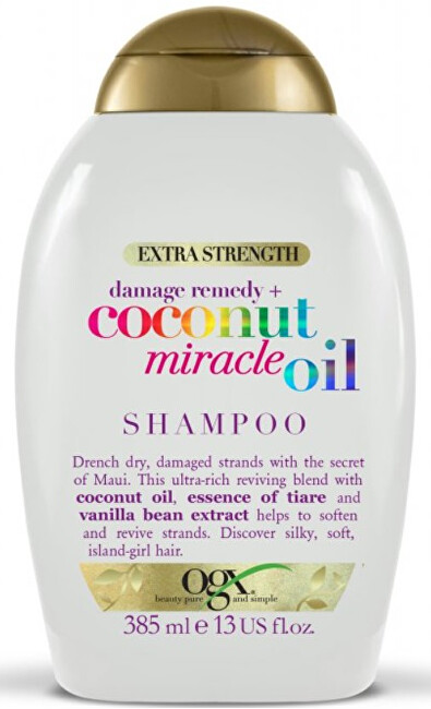 Zobrazit detail výrobku OGX Coconut Miracle Oil šampon 385 ml