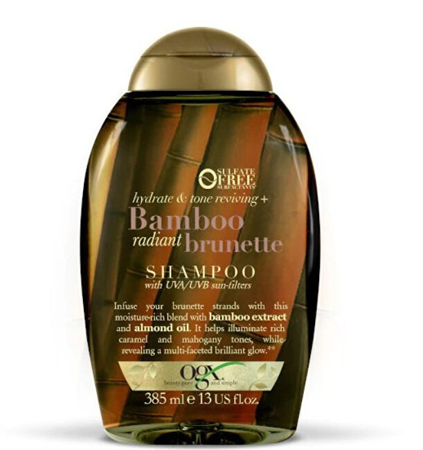 Hydratační šampon bruneta Bambus s UVA/UVB filtrem 385 ml