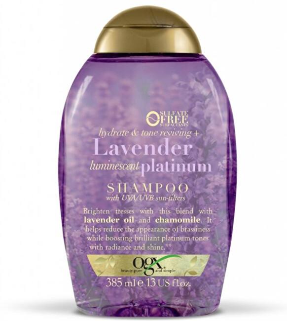 Zobrazit detail výrobku OGX Hydratační šampon Levandule s UVA/UVB filtrem 385 ml