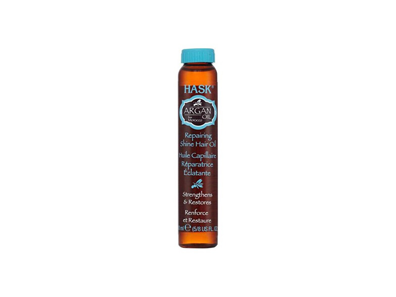 Zobrazit detail výrobku Hask Obnovující olej na vlasy - argan.olej 18 ml