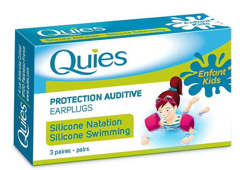 Zobrazit detail výrobku QUIES QUIES chrániče pro plavání děti (3 páry)