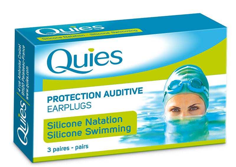 Zobrazit detail výrobku QUIES QUIES chránice pro plavání dospělí (3 páry)