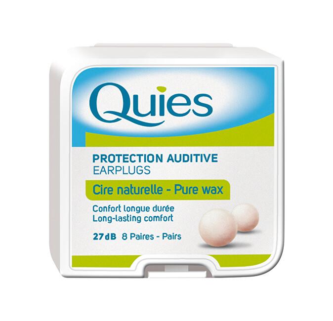 Zobrazit detail výrobku QUIES QUIES chrániče sluchu z přírodního vosku (8 párů)
