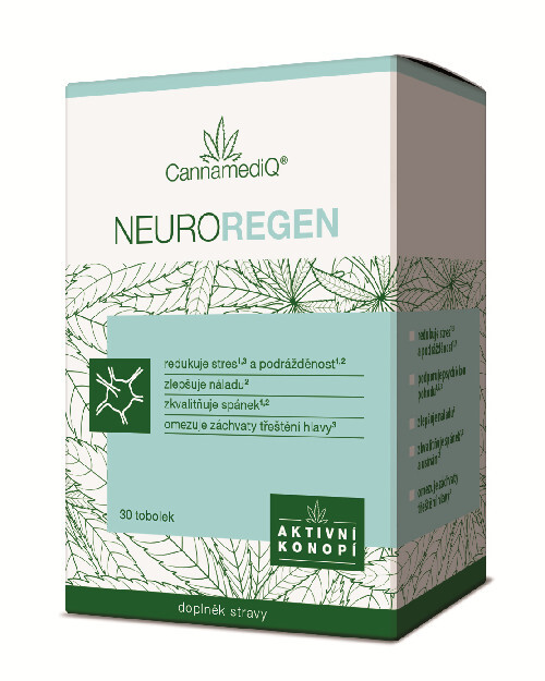 Zobrazit detail výrobku Simply You CannamediQ Neuroregen 30 tob.