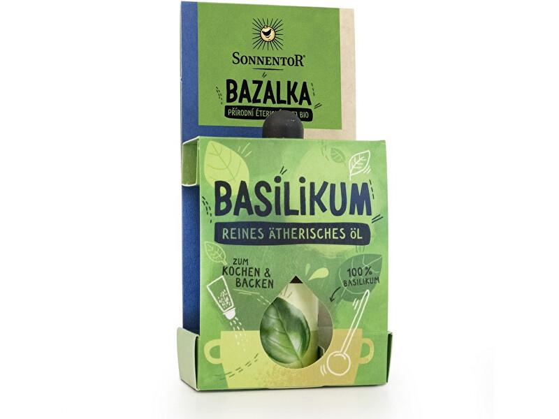 Zobrazit detail výrobku Sonnentor Bio Bazalka 4,5ml