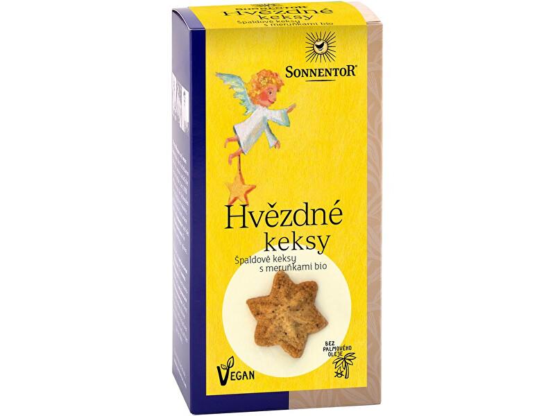 Zobrazit detail výrobku Sonnentor Bio Hvězdné keksy 125 g