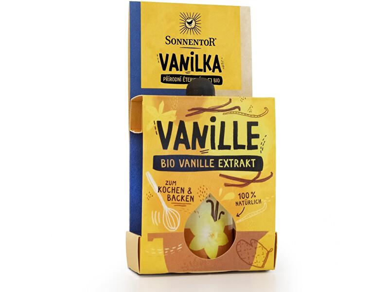 Zobrazit detail výrobku Sonnentor Bio Vanilka extrakt 4,5 ml