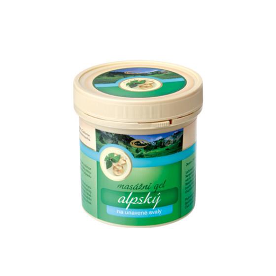 Zobrazit detail výrobku Topvet Alpský masážní gel 250 ml
