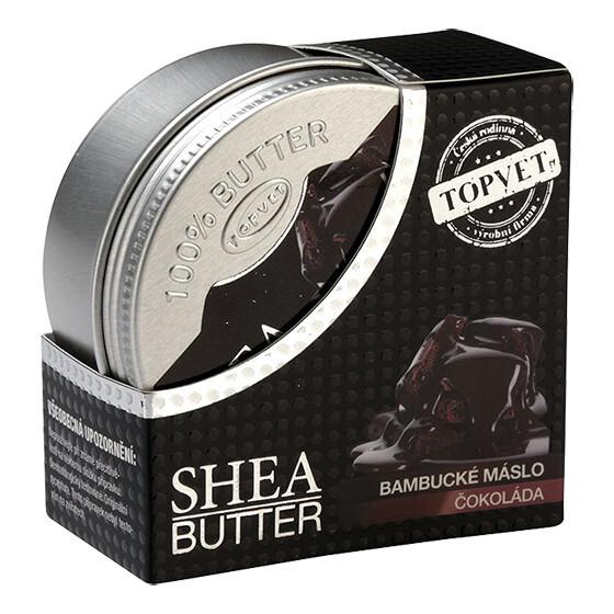 Zobrazit detail výrobku Topvet Bambucké máslo s ČOKOLÁDOU 100 ml