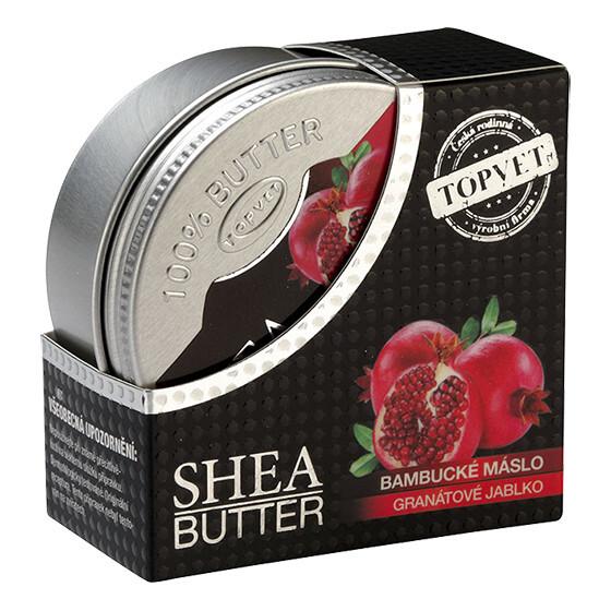 Zobrazit detail výrobku Topvet Bambucké máslo s GRANÁTOVÝM JABLKEM 100 ml