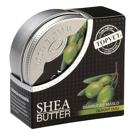 Zobrazit detail výrobku Topvet Bambucké máslo s OLIVOVÝM OLEJEM 100 ml