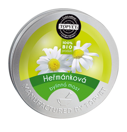 Zobrazit detail výrobku Topvet Heřmánková mast 50 ml